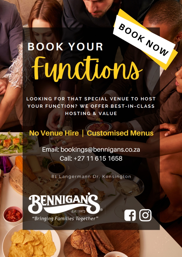 Bennigans Function Posters - A4_001